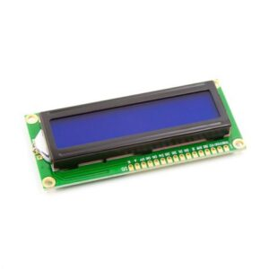 LCD16x2 Parallel LCD Display with Blue Backlight without I2C