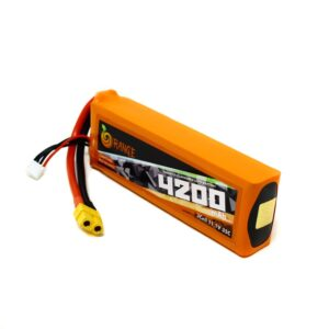 ORANGE 4200mAh 3S 30C (11.1 v) Lithium Polymer Battery Pack (LiPo555)